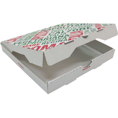 Cartons pizzas